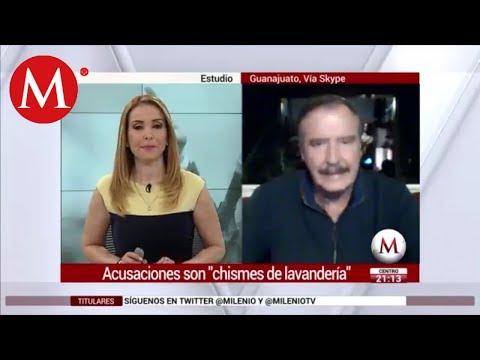 Xxx Mp4 Fox Chismes De Lavanderas Acusaciones De Cevallos Y AMLO En Mi Contra 3gp Sex