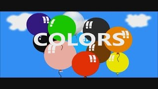 Learn Colours With Balloons - Colours With Balloons  - Colours Learning Made Easy