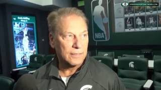 Tom Izzo discusses the 2016-17 Basketball season