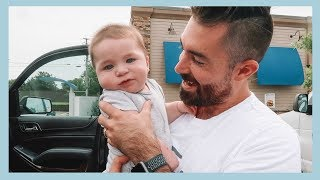 HOW TO TRAVEL WITH BABY  24 HR ROAD TRIP EDITION