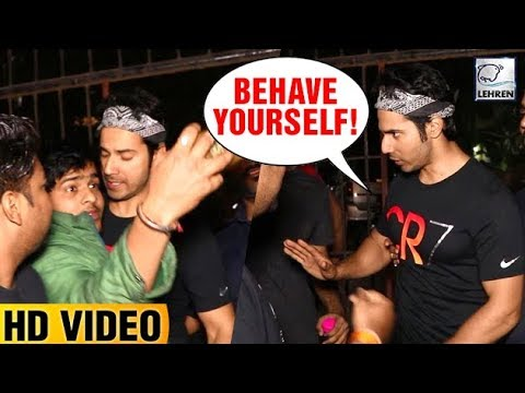 Xxx Mp4 Varun Dhawan S Ugly Fight With Fan LehrenTV 3gp Sex