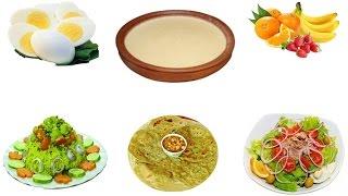 সকালের নাস্তায় রাখুন স্বাস্থ্যকর ৭ টি খাবার তালিকা।Bangla Health Tips