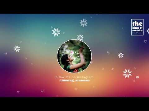 ente ellm ellam alle  malayalam whatsapp status video | Anurag Aramana
