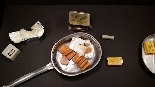 1945 World War 2 Ration Food Oldest Chocolate Ever Eaten Canadian Emergency Survival MRE