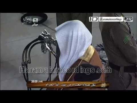 EXTREMELY EMOTIONAL HD Makkah Isha 2nd May 2011 by Sheikh Khalid Ghamdi