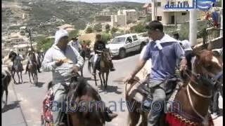 مسيرة الخيول للانبياء بيت جن