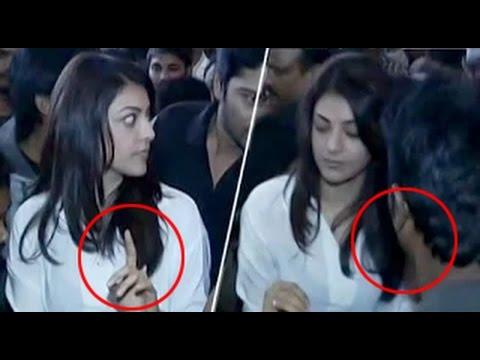 Kajal Aggarwal  Harassed by Fans    Mana Madras Kosam FundRaising Event   Rana   Nani