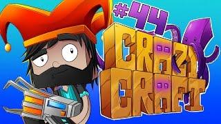 PAC-MAN ATE MY FACE!! [#44] | Minecraft Crazy Craft 3.0