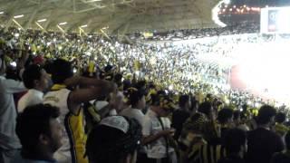 جمهور الاتحاد في مباراة النصر + لحظة دخول نور.