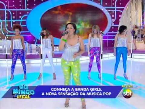 Domingo Legal (06/10/13) - Conheça o grupo GIRLS, o novo fenômeno do mundo POP