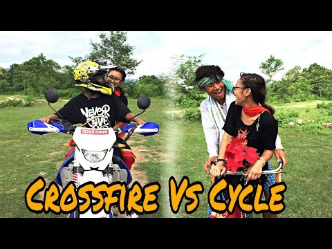 Xxx Mp4 Crossfire VS Cycle Funny Video 3gp Sex
