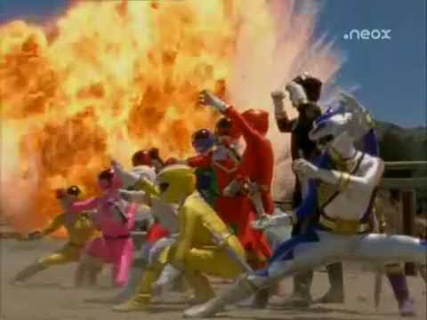 Transformacion Rangers Poder Salvaje Guardianes del Tiempo