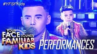 Your Face Sounds Familiar Kids: Justin Alva as Francis Magalona - Mga Kababayan Ko