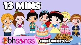 Happy Birthday Nursery Rhymes | Top Kids Songs [Music 4K ]