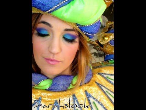 Maquillaje Carnaval de RIO de Janeiro