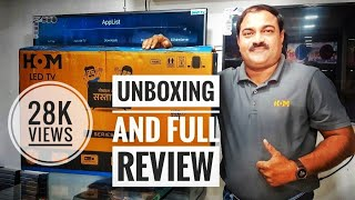 "HOM 49"" 4K SUPER SMART TV 