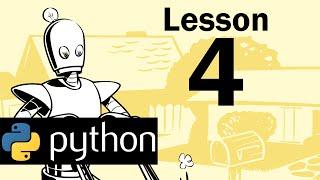 Lesson 4 - Python Programming (Automate the Boring Stuff with Python)