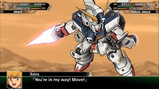 Super Robot Wars V (EN) - Crossbone Gundam X-1 Arrives (Stage 2)