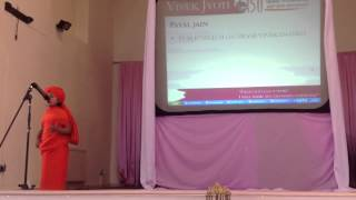 Payal Jain's speech SVP 150 Closing Ceremony Birmingham UK