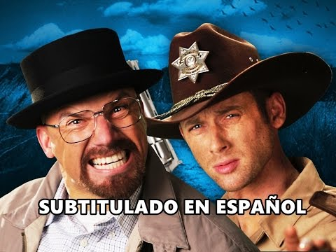 Rick Grimes vs Walter White - Epic Rap Battles of History -  Subtitulado en español