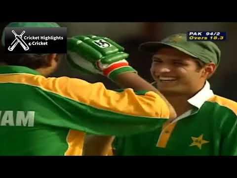 Pakistan vs India Sharjah 1999 Classic Match