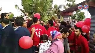 أخبار اليوم   هتافات أعضاء النادي الأهلي في ندوة الخطيب