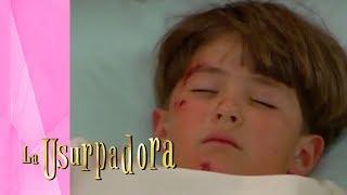 ¡Carlitos sufre un terrible accidente! | La Usurpadora - Televisa