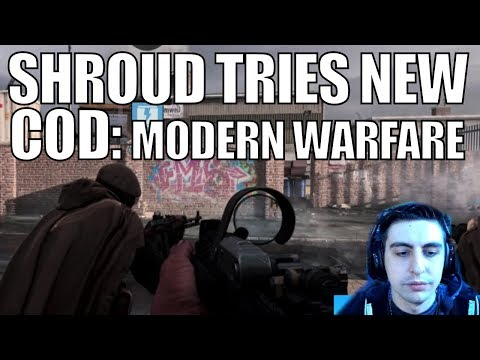 SHROUD ▪ Tries NEW COD MW At Multiplayer Reveal Event【Call Of Duty Modern Warfare】