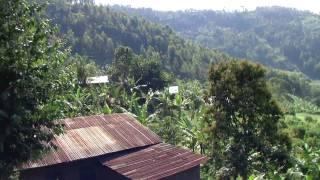 Valley Outside Ruhengeri