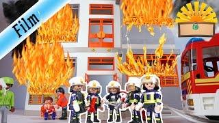 KRANKENHAUS BRENNT BABY IN FLAMMEN - Playmobil Film deutsch - FAMILIE Bergmann 117