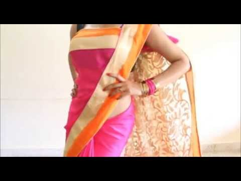 Xxx Mp4 Perfect Bollywood Style Saree Wearing Quick Stylist Sari Draping Method 3gp Sex