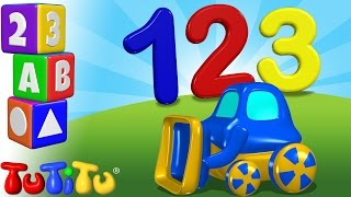 TuTiTu Preschool | 123 Tractor | Learning Numbers | Learn to Count to 10 in the Feild