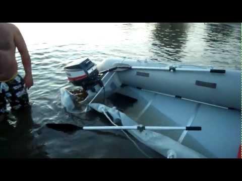 что делать если лодочный мотор утонул
