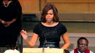 First Lady Michelle Obama Wake Forest Memorial Speech