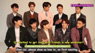 [ENG] 150108  EXO INTERVIEW with IVY CLUB