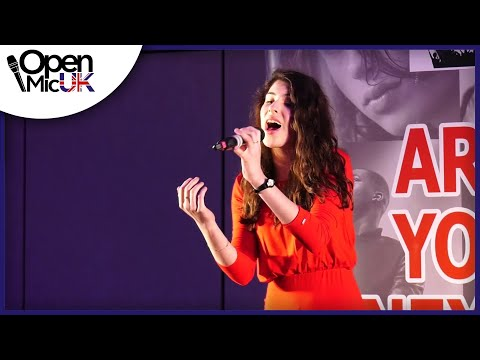BACK TO BLACK – AMY WINEHOUSE performed by JULIANNA at the Birmingham Regional Final of Open Mic UK