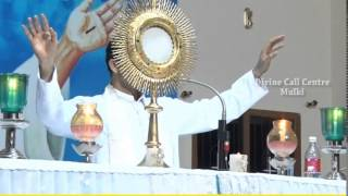 Healing Prayer Conducted By Rev.Fr.Anil Kiran SVD and Bro.T.K.George at Divine Call Centre,Mulki