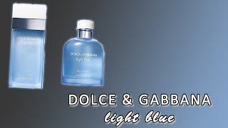 Dolce and Gabbana Light Blue for Women and Light Blue for Men fragrance/perfume review