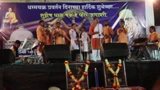 Sheetal Sathe & Troupe in Nagpur song -Bhim Baba