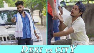 Desi People Vs City People   Dheeraj Dixit   Karamjale