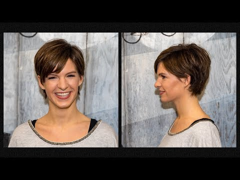 long to short pixie haircut women extreme hair makeover hairstyles 2018 by Alves & Bechtholdt