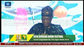 FG To Incorporate African Drum Festival In National Calendar Network Africa