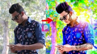Change Look + cb edit hair + HDR effect | Picsart editing tutorial | Taukeer Editz
