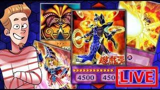 EXODIA + DARK MAGICIAN + QUINTET MAGICIAN DECK! (Dueling YOU Live!)