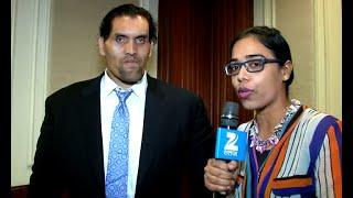 The Great Khali interview with zee salaam by jaspreet