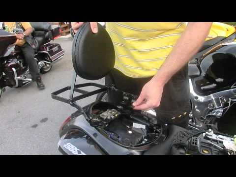 Hayabusa Back Rest Installation & Quick Review