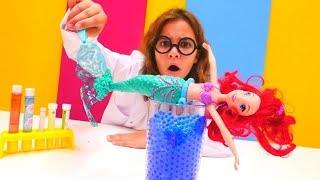 Denizkızı Ariel yürüyor - kız oyunları