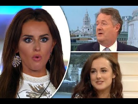 Xxx Mp4 Love Island Amber Davies Sister Propositioned For Sex On TV By Piers Morgan 3gp Sex