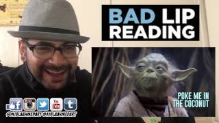 """""""SEAGULLS! (Stop It Now)"""" -- A Bad Lip Reading of The Empire Strikes Back REACTION!"""