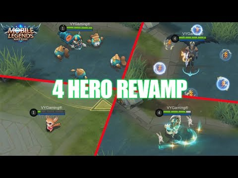 Xxx Mp4 4 HERO REWORK NANA DIGGIE KAJA DAN CHANG 39 E MOBILE LEGENDS NEW UPDATE 3gp Sex